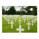 Fila del cementerio nacional de Arlington de las l Tarjetas Postales