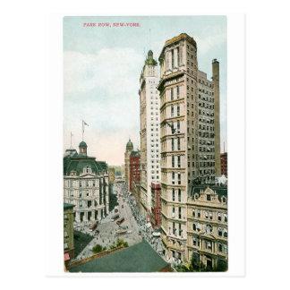 Fila del parque, Nueva York Postal