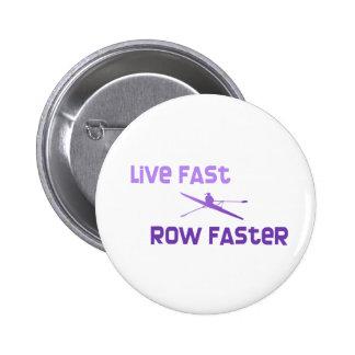 Fila rápida viva de RowChick más rápida Pins