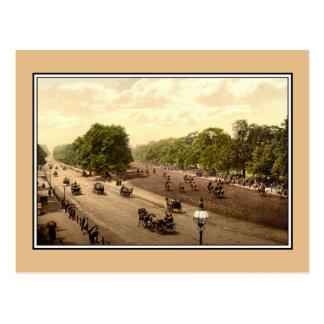 Fila y esquina putrefactas de Hyde Park, Londres, Tarjetas Postales