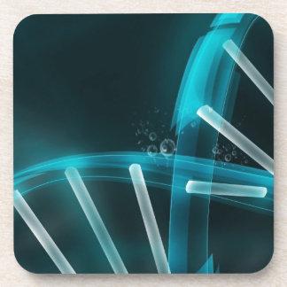 Filamento azul de la DNA de la evolución Posavasos
