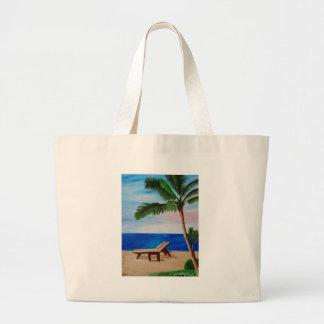 Filamento del Caribe con las sillas de playa Bolsa De Mano