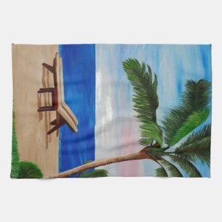 Filamento del Caribe con las sillas de playa Toallas