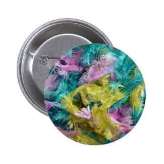 Filamentos coloridos borrosos del fondo del hilado