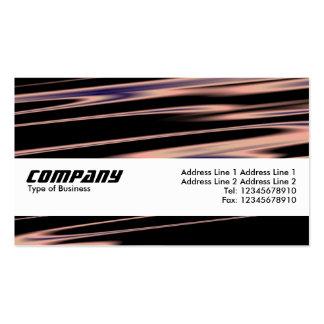 Filamentos de cobre, banda 04 de la textura tarjetas de visita