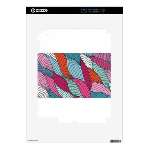 Filamentos del pajote calcomanía para iPad 2