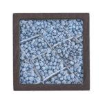 Filas de arándanos cajas de joyas de calidad