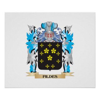 Fildes Coat of Arms - Family Crest Print