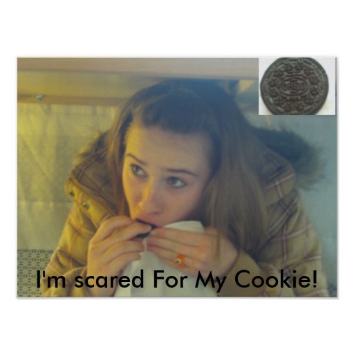 FILE0003, FILE0001, I'm scared For My Cookie! Poster