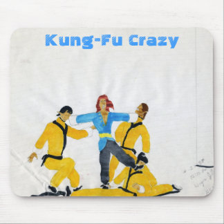 File0419, Kung-Fu Crazy Mouse Pad