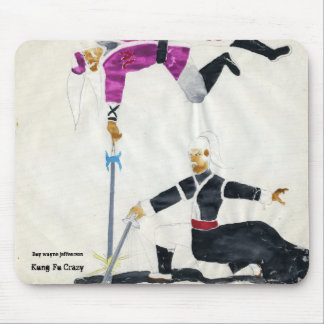 File0423, Kung-Fu Crazy, Buy wayne jeffeerson Mouse Pad