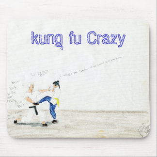 File0433, kung fu Crazy Mouse Pad