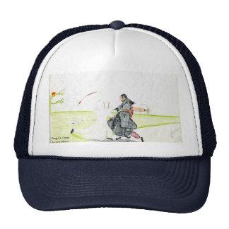 File0450, By wayne jefferson, Kung-Fu Crazy Trucker Hat