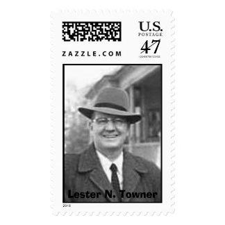 File1103bw1, Lester N. Towner, Lester N. Towner Timbre Postal