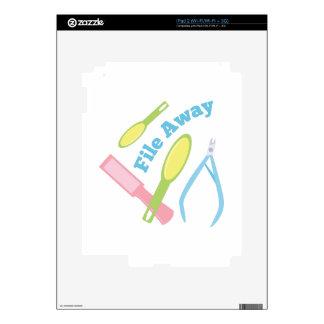 File Away Skin For iPad 2