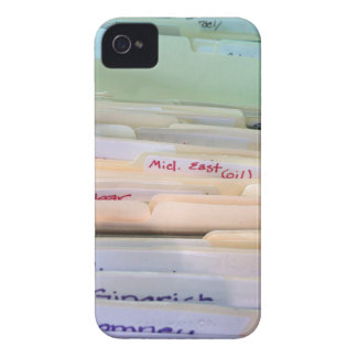 File Boxes iPhone 4 Case