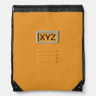File Cabinet custom monogram bag