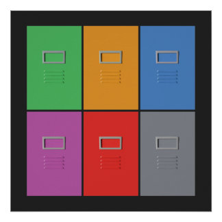 File Cabinets custom poster
