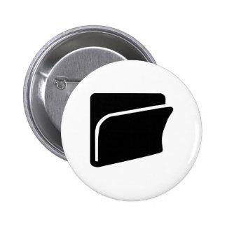 File folder icon pin