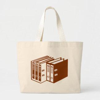 File - Folder Large Tote Bag