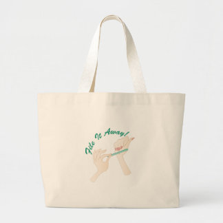 File It Away Large Tote Bag