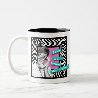 File It Two-Tone Coffee Mug