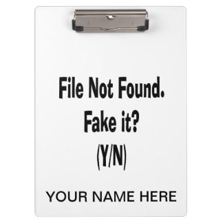 file not found black text funny computer design clipboard