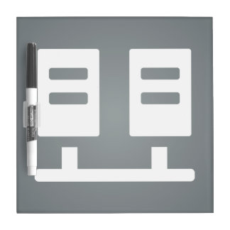 File Servers Graphic Dry Erase Whiteboard