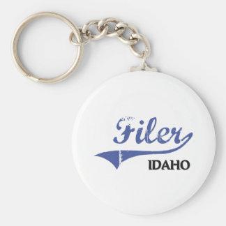 Filer Idaho City Classic Key Chain