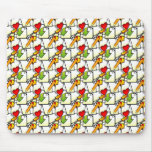 Files Pattern Mouse Pad