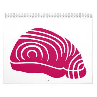Filete de atún calendarios de pared