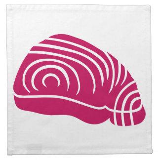 Filete de atún servilleta imprimida