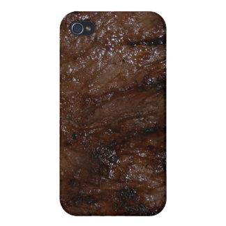 Filete de carne de vaca iPhone 4/4S fundas