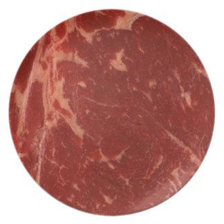Filete de carne de vaca plato