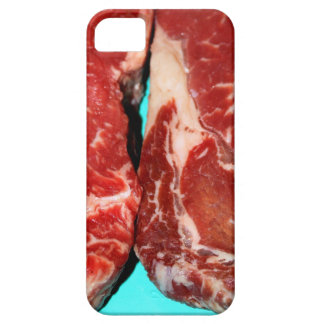Filete de Nueva York crudo iPhone 5 Carcasa