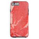 Filete de Ribeye crudo Funda Resistente iPhone 6