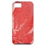 Filete de Ribeye crudo iPhone 5 Cárcasas