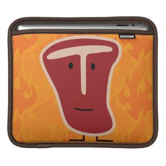 Filete feliz del T-hueso Fundas Para iPads