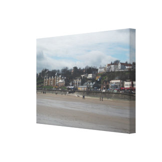 Filey Seafront Canvas Print
