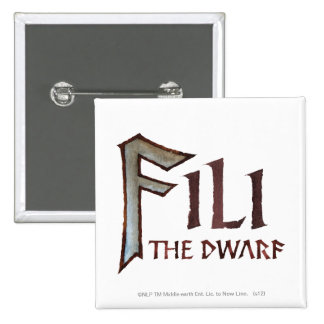 Fili Name 2 Inch Square Button