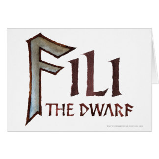 Fili Name Greeting Card
