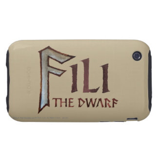 Fili Name Tough iPhone 3 Covers