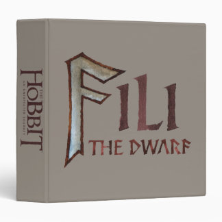 Fili Name Vinyl Binders