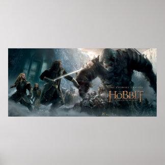 Fili, THORIN OAKENSHIELD™, & Kili Fight Giant Poster