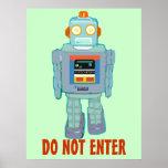 Filia el poster del robot