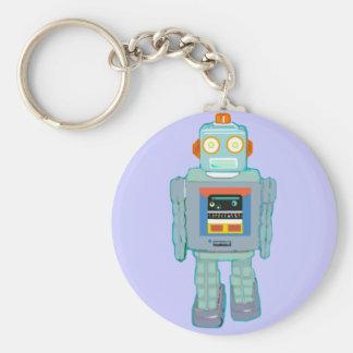 Filia el robot llavero redondo tipo pin
