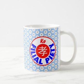 Filial Piety - Ko Coffee Mugs