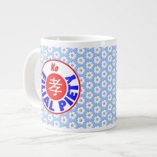 Filial Piety - Ko Extra Large Mugs