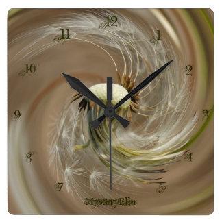 """filigran"" by mysteryella reloj cuadrado"