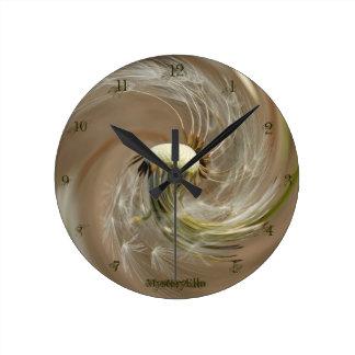 """filigran"" by mysteryella reloj redondo mediano"